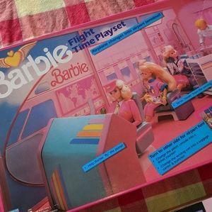 Barbie Flight Time Playset 1989